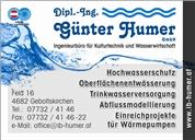 Dipl.-Ing. Günter Humer GmbH - Ingenieurbüro für Kulturtechnik Wasserwirtschaft und Energie