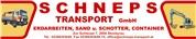 Schneps Transport GmbH - Erdarbeiten, Sand und Schotter und Container