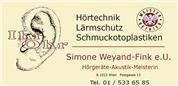 Ihr Ohr, Simone Weyand-Fink e.U. - IhrOhr, Simone Weyand-Fink e.U.