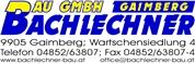 Bachlechner BauGmbH
