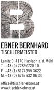 Bernhard Ebner - Tischlermeister