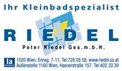 Peter Riedel Gesellschaft m.b.H. - 1a-Installateur und Kleinbadspezialist Peter Riedel GesmbH