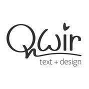 Qwir text + design OG