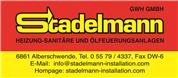 Stadelmann GWH GmbH - Heizung - Sanitäre