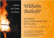 Wilhelm Baihofer GmbH -  Schmiede - Schlosserarbeiten - Metallbau