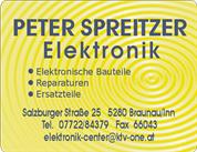 Peter Spreitzer - PETER SPREITZER Elektronik
