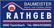 Baumeister Rathgeb Hoch- und Tiefbau GmbH - Baufirma