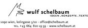 Wulf Schelbaum - Autor - Texter - Redakteur