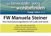 Manuela Steiner - Ihre Humanenergetikerin mit Leib und Seele
