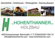Emil Hohenthanner Gesellschaft m.b.H. - Hohenthanner Holzbau