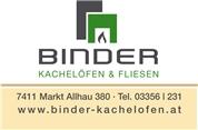 Joachim Binder - BINDER - Kachelöfen & Fliesen