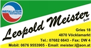 Leopold Meister GmbH -  Heizung Sanitär