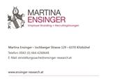 Martina Ensinger - #einstellungssache Empoyer Branding + Recruitinglösungen