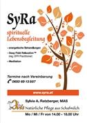 Sylvia Anneliese Ratzberger, MAS -  SyRa spirituelle Lebensbegleitung