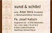 Josef Katsch - Aloe Vera Center Pinzgau