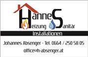 Johannes Otmar Absenger - Absenger Johannes Heizung & Sanitär Installationen