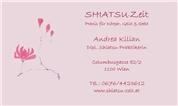 Andrea Kilian -  SHIATSUZEIT - Praxis für Körper, Geist & Seele