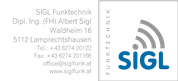 DI Albert Sigl - Dipl.-Ing.(FH) Sigl Funktechnik