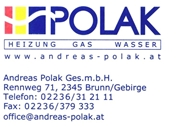 Andreas Polak Ges.m.b.H. - A. Polak Installateur Gas - Wasser - Heizung - Sanitär