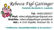 Rebecca Figl-Gattinger - PartyLite-Beraterin & -Leaderin
