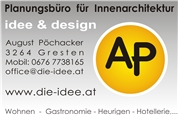 August Pöchacker - Planungsbüro für Innenarchitektur