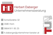 Mag. (FH) Herbert Daberger -  Unternehmensberatung