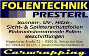 Roland Bernhard Presterl -  Folientechnik Presterl