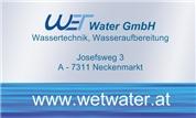 WET Water GmbH -  Wassertechnik, Wasseraufbereitung