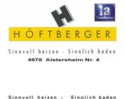Gas-Wasser-Heizung-Sanitär-Installationen Höftberger Gesellschaft m.b.H. & Co. KG.