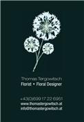 Thomas Oswald Tergowitsch -  Florist/Floral Designer