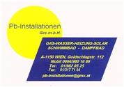 PB-Installationen Ges.m.b.H. -  Gas-Wasser-Heizungs-Installateur