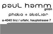 PAUL HAMM GmbH - Fotograf