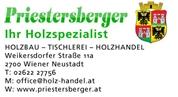Kurt Priestersberger - PRIESTERSBERGER Ihr Holzspezialist - Tischlerei / Holzhandel / Forstwirtschaft / Sägewerk