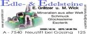 Edwin Grätzer - Edle- & Edelsteine