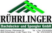 Rührlinger Dachdecker und Spengler GmbH