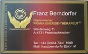 Franz Berndorfer - Dipl. PRANA ENERGIE-THERAPEUT