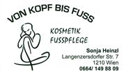 Sonja Heinzl - VON KOPF BIS FUSS