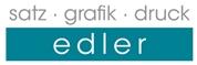 Günther Edler - Satz - Grafik - Druck Edler