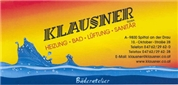 Ing. Eduard Klausner Gesellschaft m.b.H. - Haustechnik: Heizung/Lüftung/Bad/Alternativenergie