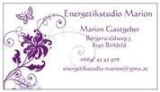 Marion Gastgeber - Energetikstudio Marion - Bachblütenberatung, Kinesiologie