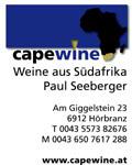 Paul Seeberger - capewine - Weine aus Südafrika