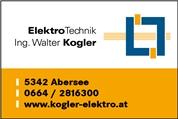 Ing. Walter Kogler -  ElektroTechnik Ing. Walter Kogler