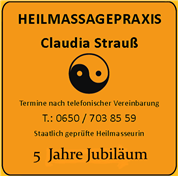 Claudia Strauss - Heilmassagepraxis Claudia