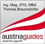 Thomas Braunsdorfer -  staatlich geprüfter Fremdenführer