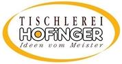 Manfred Josef Hofinger - Tischlerei  <br>Hofinger Manfred