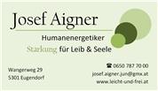 Josef Aigner -  Humanenergetiker
