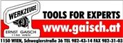 Ernst Gaisch e.U. - Handel mit Werkzeugen und Präzisionswerkzeugen für die Holz- und Metallbearbeitung.