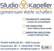 Studio Kapeller KG - Coaching | Consulting | Training