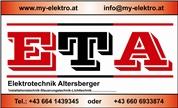 Wolfgang Altersberger -  ETA - Elektrotechnik und Elektrohandel Altersberger