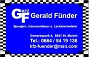 Gerald Johannes Fünder - KFZ-Fünder Gerald